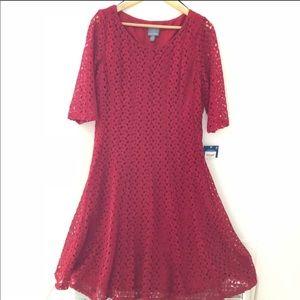 🌼Dress Sale🌼 Red Lace Dress on Sale.